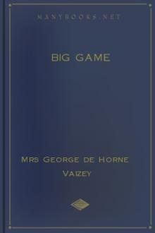Big Game by Mrs George de Horne Vaizey