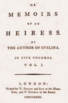 Cecilia, Memoirs of an Heiress, vol 1 by Madame D'Arblay