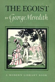 The Egoist by George Meredith