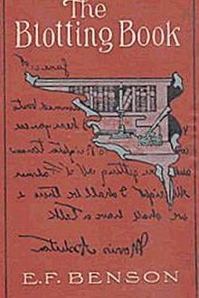 The Blotting Book by E. F. Benson