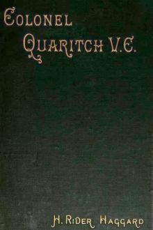 Colonel Quaritch, V.C. by H. Rider Haggard