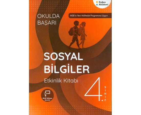 4.Sınıf Sosyal Bilgiler Etkinlik Kitabı Doğan Akademi