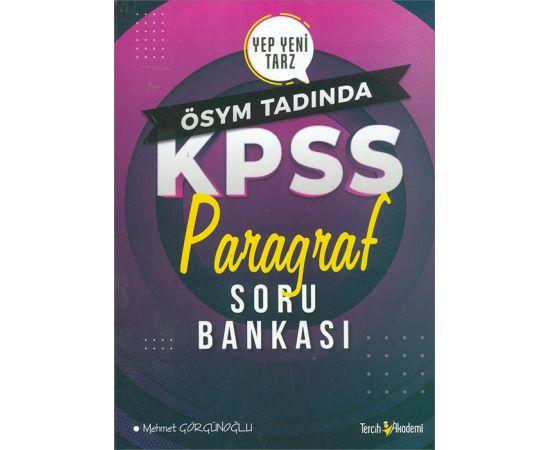 2021 KPSS Paragraf Soru Bankası Tercih Akademi Yayınları