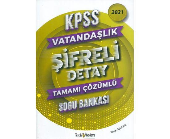 2021 KPSS Vatandaşlık Şifreli Detay Çözümlü Soru Bankası Tercih Akademi Yayınları