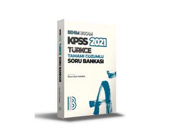 Benim Hocam 2021 KPSS Türkçe Tamamı Çözümlü Soru Bankası