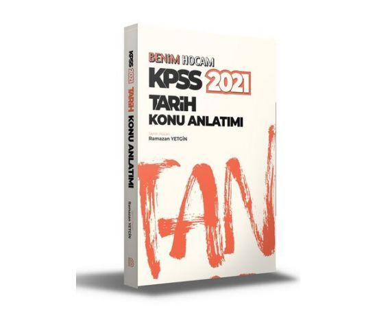 Benim Hocam 2021 KPSS Tarih Konu Anlatımı