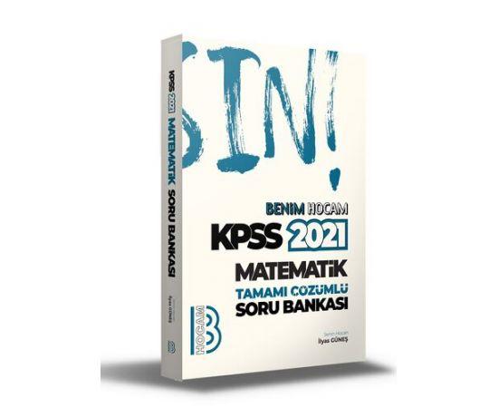 Benim Hocam 2021 KPSS Matematik Tamamı Çözümlü Soru Bankası