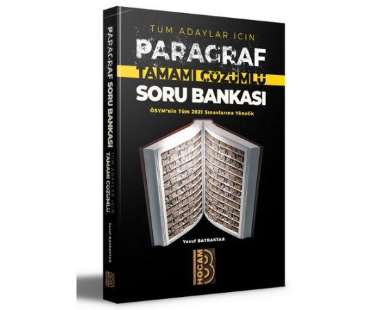 Benim Hocam 2021 Tüm Adaylar İçin Çözümlü PARAGRAF Soru Bankası