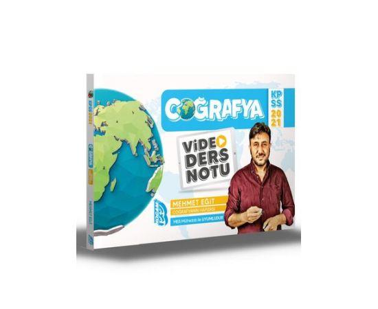 Benim Hocam 2021 KPSS Coğrafya Video Ders Notu Mehmet Eğit