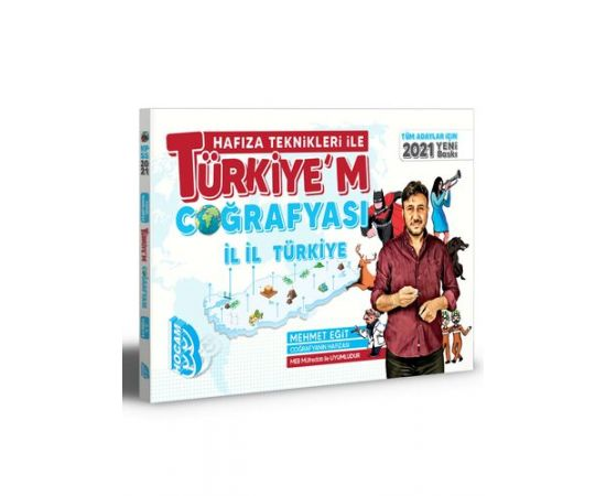 2021 Tüm Adaylar İçin Hafıza Teknikleri İle Türkiyem Coğrafyası