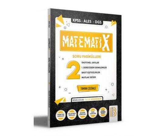 2021 KPSS ALES DGS MatematiX Soru Fasikülleri 2