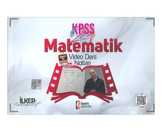 2021 KPSS Matematik Video Ders Notları İsem Yayıncılık