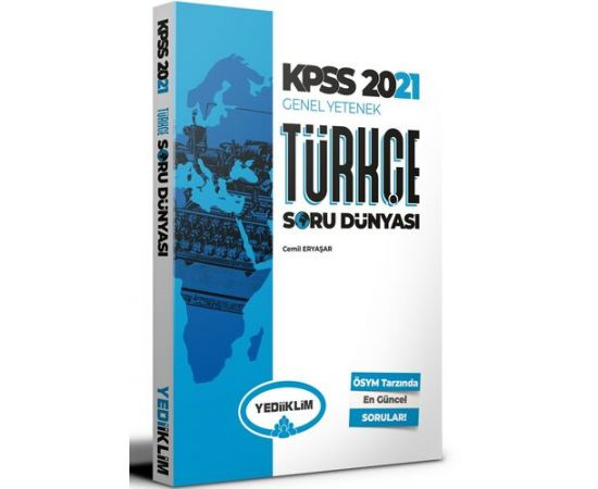 Yediiklim 2021 KPSS Türkçe Soru Dünyası