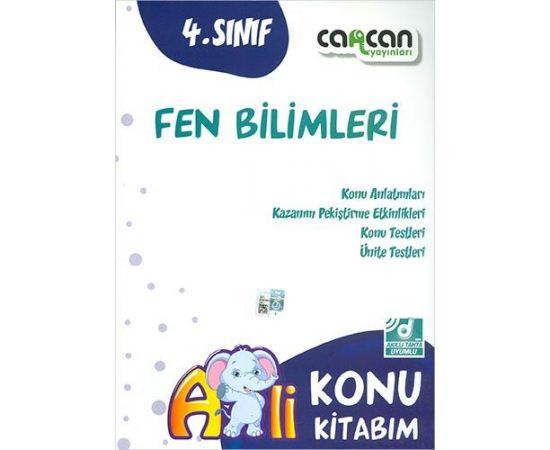 CanCan 4.Sınıf Fen Bilimleri Konu Kitabım