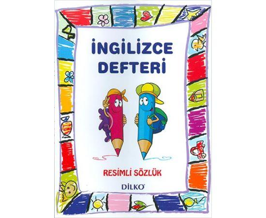 Dilko İlkokul 1 2 3 4. Sınıf İngilizce Sözlüklü Defter