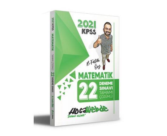 Hocawebde 2021 KPSS Matematik Tamamı Çözümlü 22 Deneme
