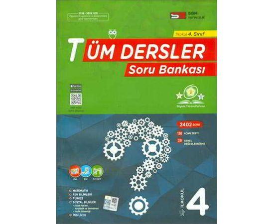 İlkokul 4.Sınıf Tüm Dersler Soru Bankası SBM Yayıncılık