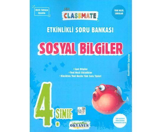 4.Sınıf Sosyal Bilgiler ClassMate Soru Bankası Okyanus Yayınları