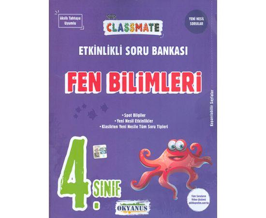 4.Sınıf Fen Bilimleri ClassMate Soru Bankası Okyanus Yayınları