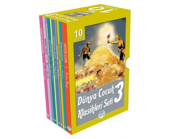 Dünya Çocuk Klasikleri 10 Kitap Seti-3 Maviçatı Yayınları
