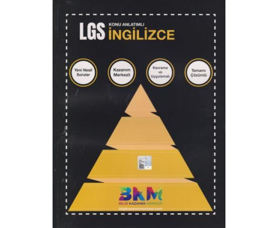 LGS İngilizce Konu Anlatımlı Bilgi Kazanım Merkezi