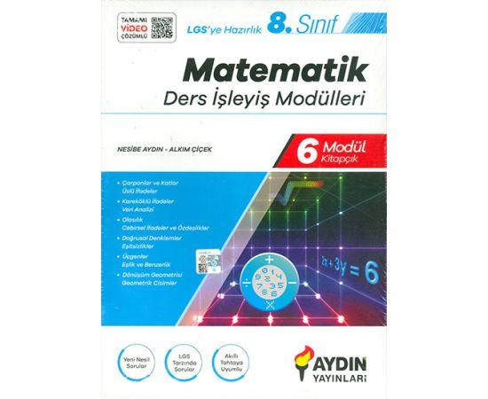 8.Sınıf Matematik Ders İşleyiş Modülleri Aydın Yayınları