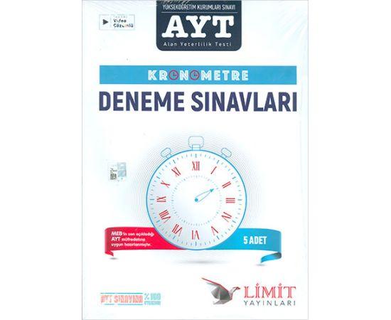 AYT Kronometre 5li Deneme Seti Limit Yayınları