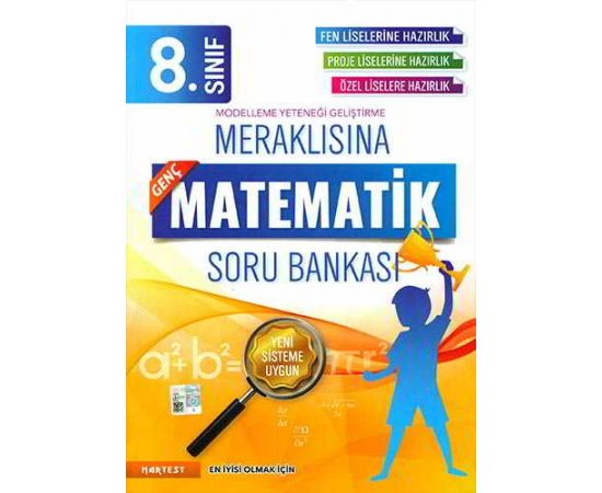 Nartest 8.Sınıf Meraklısına Genç Matematik Soru Bankası