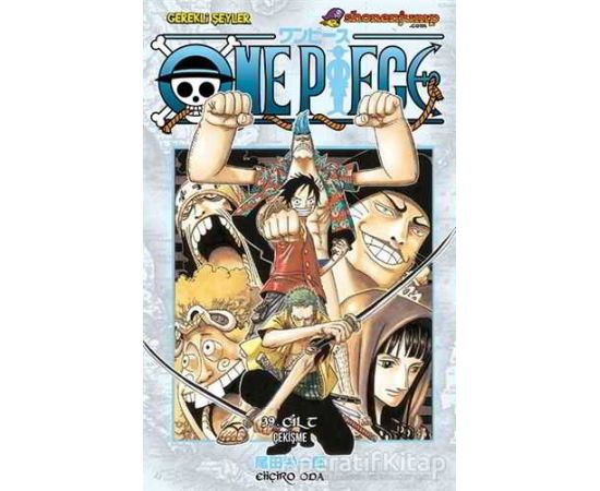 One Piece 39. Cilt - Eiiçiro Oda - Gerekli Şeyler Yayıncılık