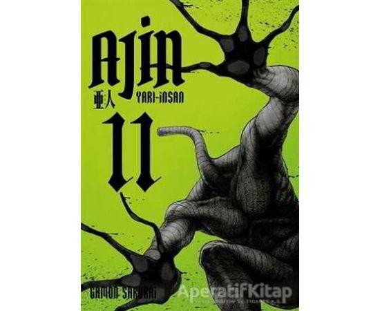 Ajin: Yarı İnsan 11. Cilt - Gamon Sakurai - Gerekli Şeyler Yayıncılık
