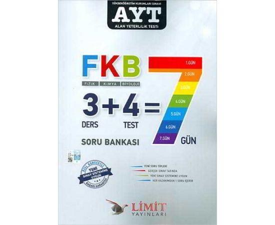 Limit AYT Fizik Kimya Biyoloji Soru Bankası