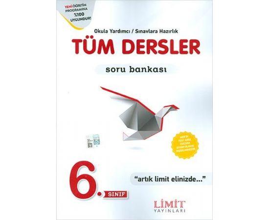 Limit 6.Sınıf Tüm Dersler Soru Bankası