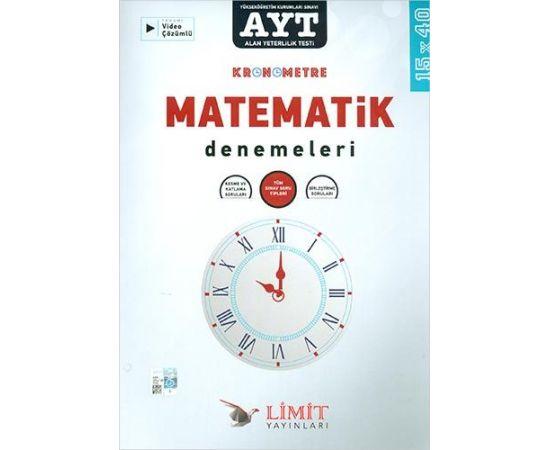 Limit AYT Kronometre Matematik Denemeleri