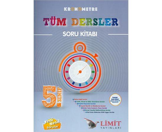 Limit 5.Sınıf Kronometre Tüm Dersler Soru Kitabı