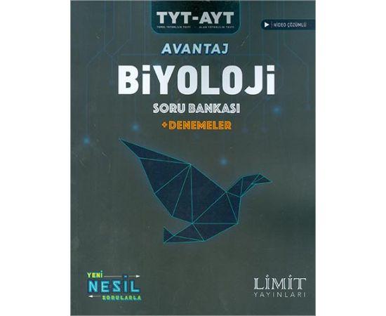 Limit TYT AYT Avantaj Biyoloji Soru Bankası +Denemeler