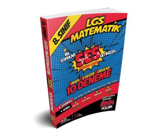 Benim Hocam LGS 8.Sınıf SES Getirecek Matematik 10 Deneme