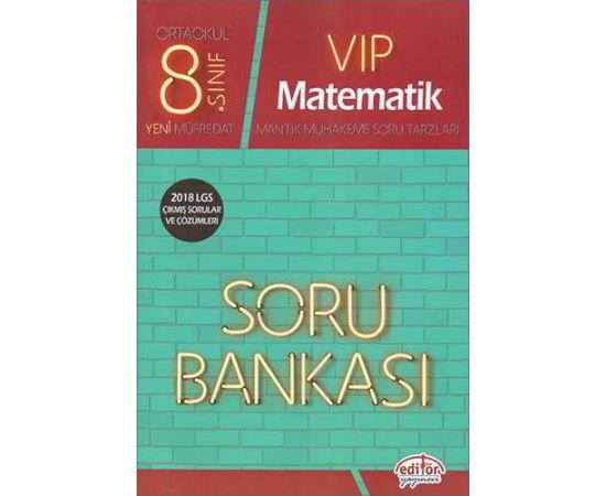 Editör 8.Sınıf VIP Matematik Soru Bankası