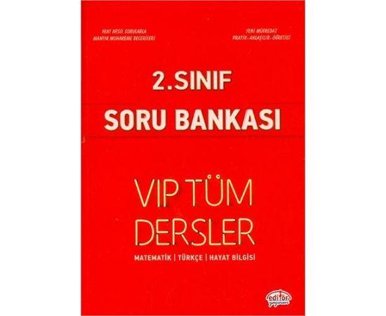 Editör 2.Sınıf Vip Tüm Dersler Soru Bankası