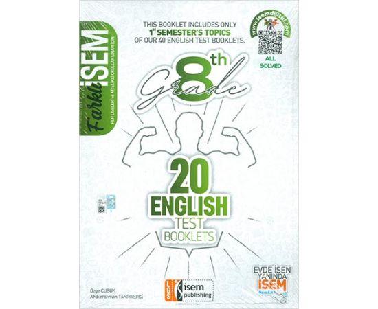 İsem 8.Sınıf LGS 1. Dönem İngilizce 10 Branş Deneme