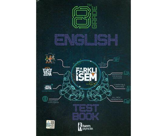 8.Sınıf LGS Farklı İsem İngilizce Soru Bankası İsem Yayınları