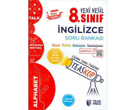 Teas Press 8.Sınıf İngilizce Soru Bankası