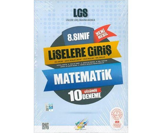 FDD 8.Sınıf LGS Matematik 10 Çözümlü Deneme