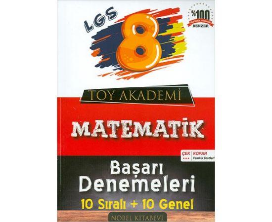 Toy Akademi 8.Sınıf LGS Matematik Başarı Denemeleri