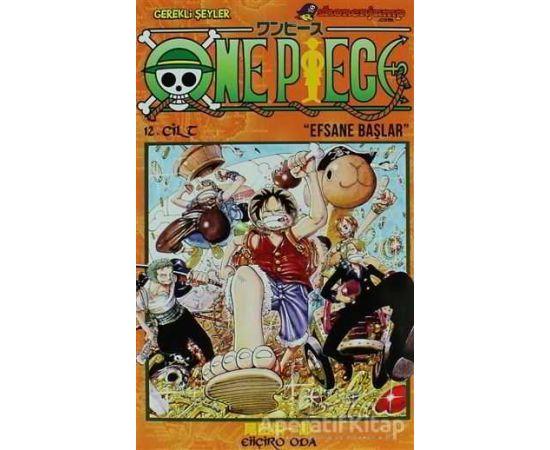 One Piece 12. Cilt - Eiiçiro Oda - Gerekli Şeyler Yayıncılık