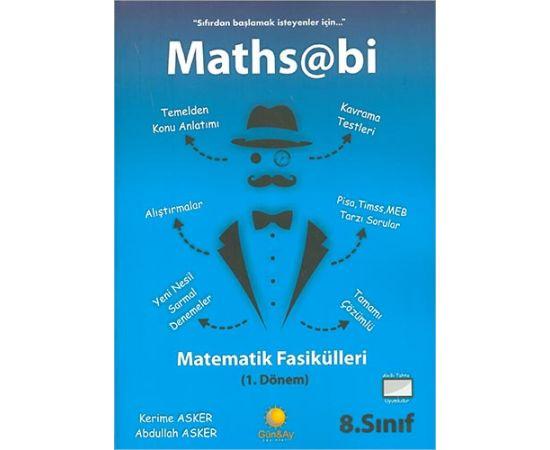 8.Sınıf Maths Abi 1 Matematik Fasikülleri Günay Yayınları