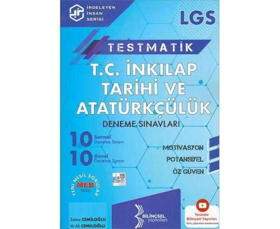 Bilinçsel 2021 LGS T.C. İnkılap Tarihi ve Atatürkçülük Deneme Sınavları