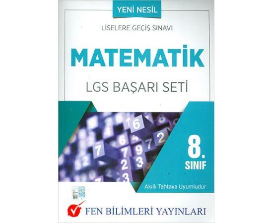 Fen Bilimleri 8.Sınıf Matematik LGS Başarı Seti