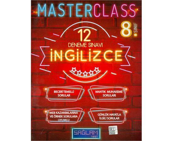 Sağlam Test 8.Sınıf Master Class İngilizce 12 Deneme