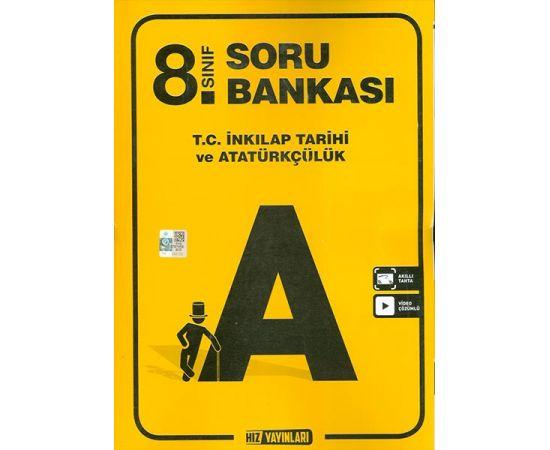 8.Sınıf İnkılap Tarihi Soru Bankası Hız Yayınları