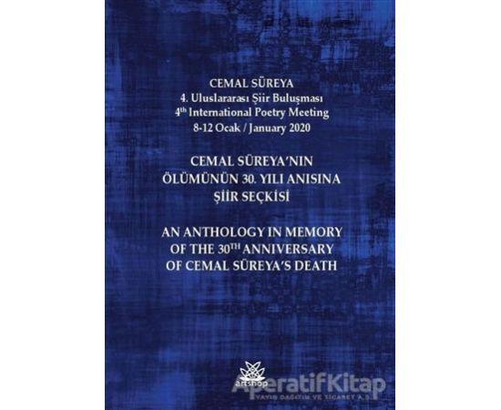 Cemal Süreya'nın Ölümünün 30. Yılı Anısına Şiir Seçkisi - Mesut Şenol - Artshop Yayıncılık